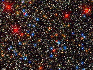 star clusters seen by the Hubble Space Telescope