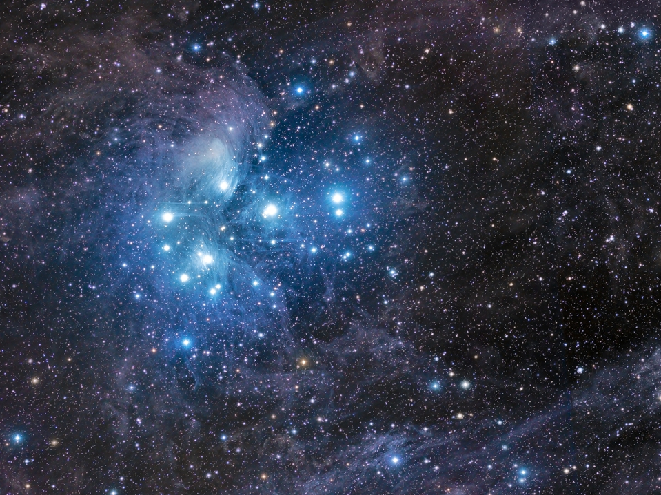 pleiades star cluster hubble - photo #14
