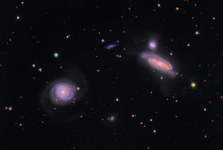 groupe de galaxies NGC 7771