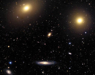 amas de galaxies virgo