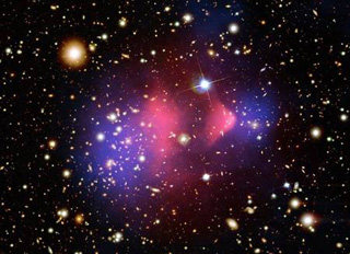 Bullet cluster and of dark matter