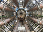 The giant particle detector ATLAS - LHC