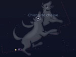 Constellations d'hiver - Chiens de chasse