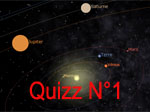Quiz for children, planets
