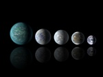 Systems exoplanets Kepler-62 and Kepler-69