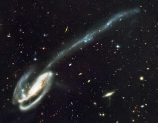 The Tadpole galaxy or Arp 188