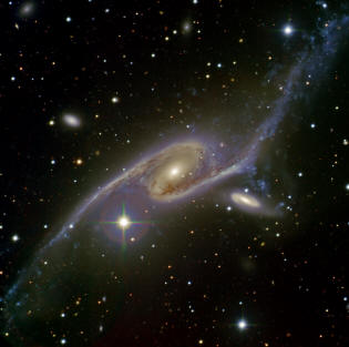 The galaxy NGC 6872 and IC 4970