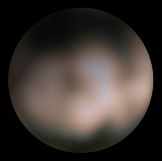 Charon seen by Hubble Space Telescope