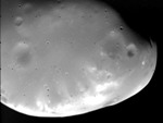 Deimos moon of Mars