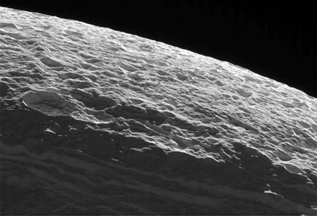Dione Surface High Albedo