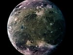 Ganymede the largest moon of Jupiter