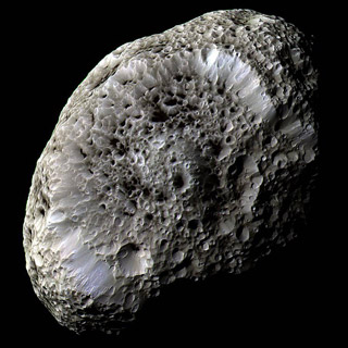 Wonder of the World - Hyperion Saturn moon