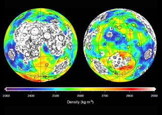 Lunar mapping density of the Moon