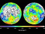 mascons or gravitational anomalies of the Moon