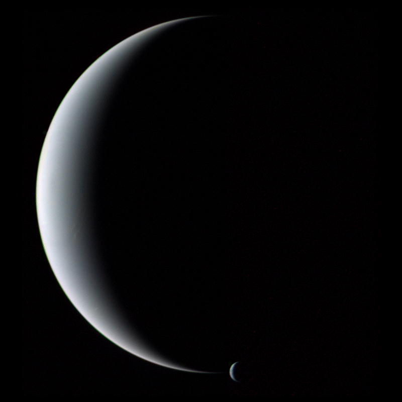 voyager 2 neptune triton - photo #1
