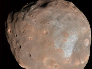 Phobos, satellite of Mars