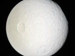 Tethys moon of Saturne