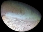 Triton, seventh largest moon in the solar system