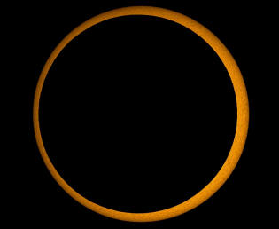 annular eclipse of 15 January 2010 made in India