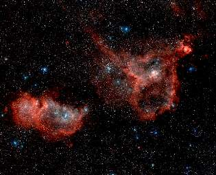 nebulas Heart and Soul, IC 1805 IC 1848