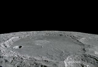Crater of the Moon Leibnitz