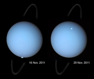 Aurora on Uranus