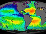 Aquarius satellite observation of ocean salinity