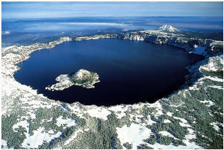 caldeira crater lake oregon