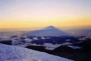 Chimborazo the highest mountain of the world