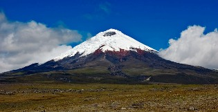 Cotopaxi volcano rises to 5897 meters
