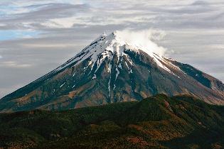 Taranaki stratovolcano new zealand